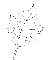 9 best images of autumn leaf templates printable free printable