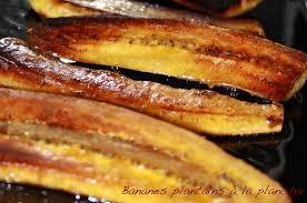 cuisiner banane plantain bananes plantains à la plancha les 5 sens en cuisine