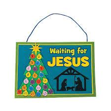 waiting for jesus u201d sign craft kit orientaltrading com advent