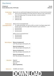 resume template microsoft office word 2007 free resume templates for microsoft office word 2007