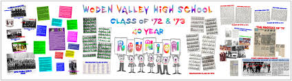 high school reunion banners woden valley high school 72 73 reunion a topnotch site