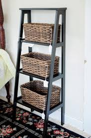 industrial wall shelving furniture industrial open shelf ladder bookcase short ladder