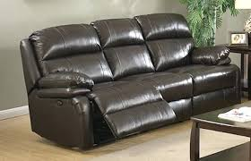 Brown Leather Recliner Sofa Italian Leather Recliner Sofa Modern Brown Set Electronic