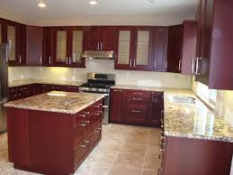 Cherry Cabinet Kitchen Kitchen Cabin Remodeling Granite For Cherry Cabinets Fabulous
