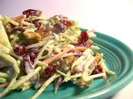 easy broccoli cranberry slaw recipe thanksgiving genius