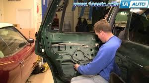 2001 dodge dakota window regulator how to install replace broken power window regulator rear dodge