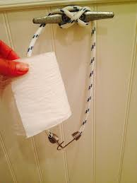 Toilet Paper Holders by Boat Cleat Toilet Paper Holder Pic Shows How I Held It Together