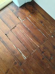 badly damaged floorboards residential wood floor repair