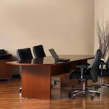 8 Foot Conference Table by Buy Mayline Csii Boat Shaped 7 U0026 39 Conference Table With Trestle
