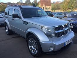 jeep nitro black used dodge nitro cars for sale motors co uk