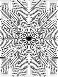 creative haven geometric designs collection coloring book dover