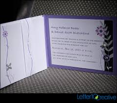 bling wedding invitations purple black bling wedding invitations by vermont graphic