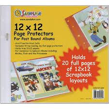 Scrapbook Page Protectors 12x12 Scrapbook Binders Compare Prices At Nextag