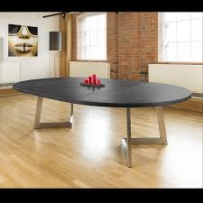 Round To Oval Dining Table Massive 180 280cm Extending Luxury Round Oval Dining Table Oak