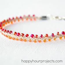 beaded ankle bracelet images Beaded hemp ankle bracelet happy hour projects jpg