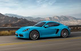 porsche driveway 2017 porsche 718 cayman revealed in all its turbocharged glory