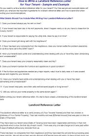 10 work reference for landlord template job duties work reference