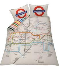 British Flag Bedding Buy Living London Tube Map Duvet Cover Set Double At Argos Co Uk