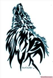 crazy tribal wolf head tattoo design tattoo viewer com