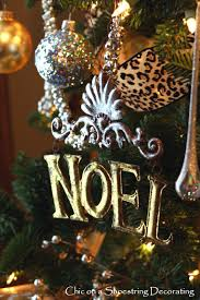 chic on a shoestring decorating my fancy christmas tree with a