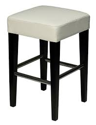 Counter Stool Backless Amazon Com Cortesi Home Aspen White Counter Stool In Genuine