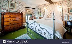 english country style bedroom stock photo royalty free image