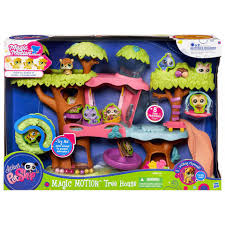littlest pet shop magic motion tree house walmart