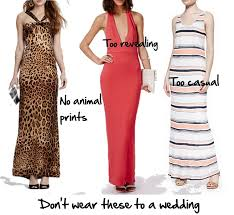 wedding what to wear are maxi dresses appropriate for an afternoon wedding