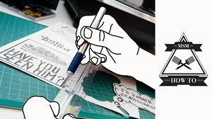 aufkleber selber designen how to sticker selber machen skateboard msm
