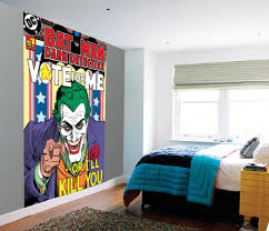 joker vote me or i ll kill you wall mural buy at europosters joker vote me or i ll kill you wallpaper mural