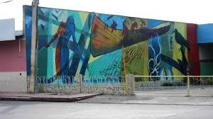 tom hawthorn s blog muralist turns vancouver into open air gallery a blank wall facing a service station along a busy street in santiago cuba became the canvas for a mural titled