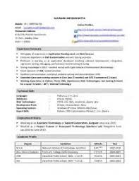 Resume Samples For 2 Years Experience by Java J2ee 2 Years Experience Resume Java J2ee 2 Years Experience