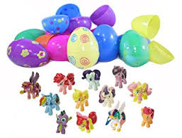 easter eggs filled with toys my pony figure topper filled easter eggs