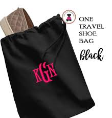 Travel Shoe Bags images Monogrammed shoe bag jpg