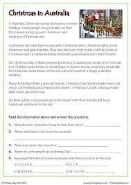 christmas traditions around the world worksheets worksheets