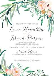 wedding invitations hamilton wedding invitations vines of green by susan moyal wedding