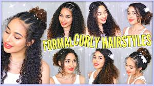 7 best curly hairstyles for prom graduation formals u0026 weddings