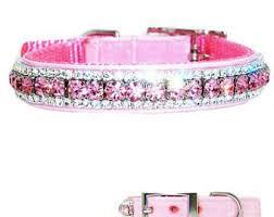 swarovski dog necklace images Crystal dog collar etsy jpg