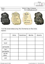 primaryleap co uk types of stone worksheet