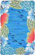 Fish Area Rugs Tropical Area Rugs Ebay