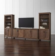 Crate And Barrel Sideboard Wood Tv Stands Crate And Barrel