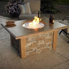 Patio Fireplace Table Inspiring Propane Patio Fire Pit With Fire Pits Fireplaces