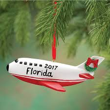 personalized airplane ornament airplane ornament kimball