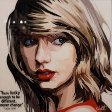 taylor swift inspired plaque mounted poster