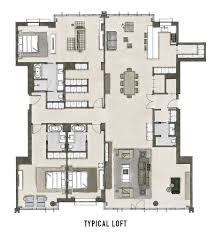 Penthouse Apartment Floor Plans Take A Look At Floor Plans Of Oosten U0027s Resedences