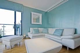 Powder Blue Curtains Decor Living Room Design Blue And White Theme Living Room Decoration