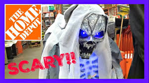 Home Depot Decor Store Halloween 2017 Home Depot Store Tour Animatronics Creepy Decor