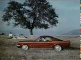 steve mcqueen mustang commercial 1965 ford mustang 2 plus 2 commercial