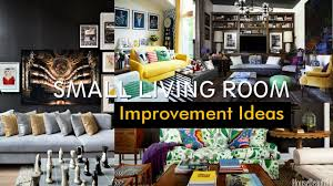 Small Living Rooms 20 Small Living Room Improvement Ideas Youtube
