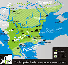 Medieval Maps Bulgarian Empire Wikipedia